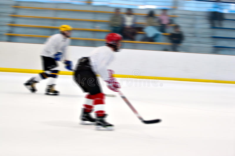 Download Hockey Players On the Ice stock image. Image of layout - 18604957