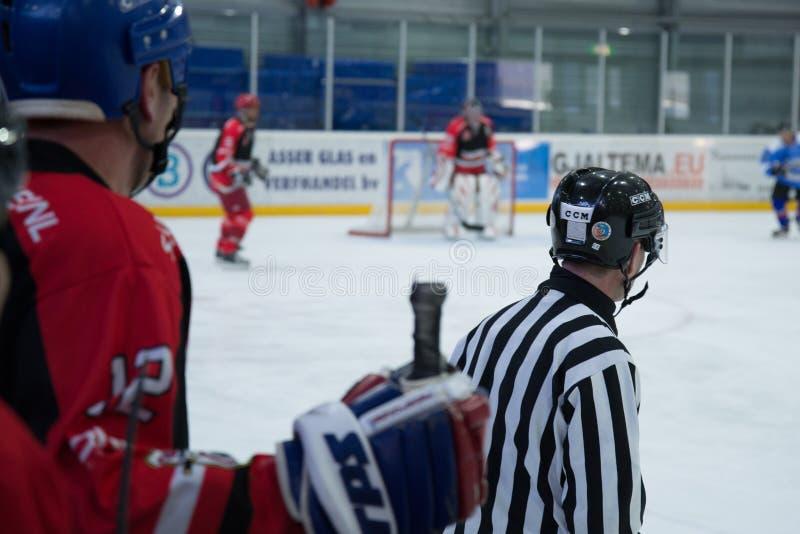 Hockey Players On Rink Free Public Domain Cc0 Image