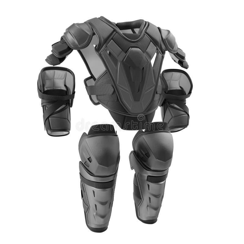 Free Hockey Protective Gear Kit On White. 3D Illustration Stock Image - 91717961