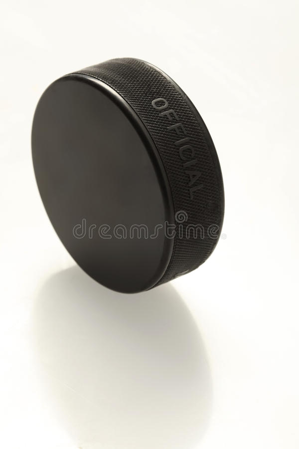 Free Hockey Puck Royalty Free Stock Photography - 19194937