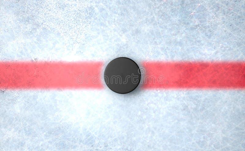 Hockey Puck Centre libre illustration