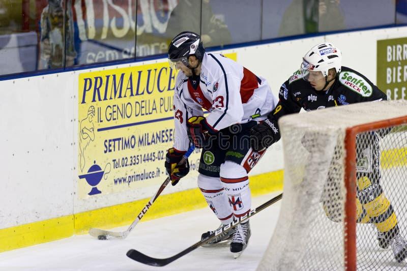 Hockey sobre hielo imagen de archivo libre de regalías