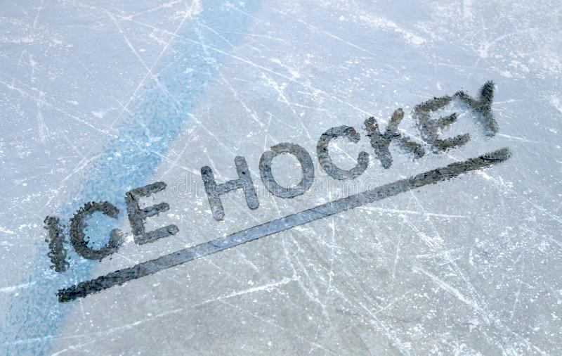Hockey sobre hielo imágenes de archivo libres de regalías