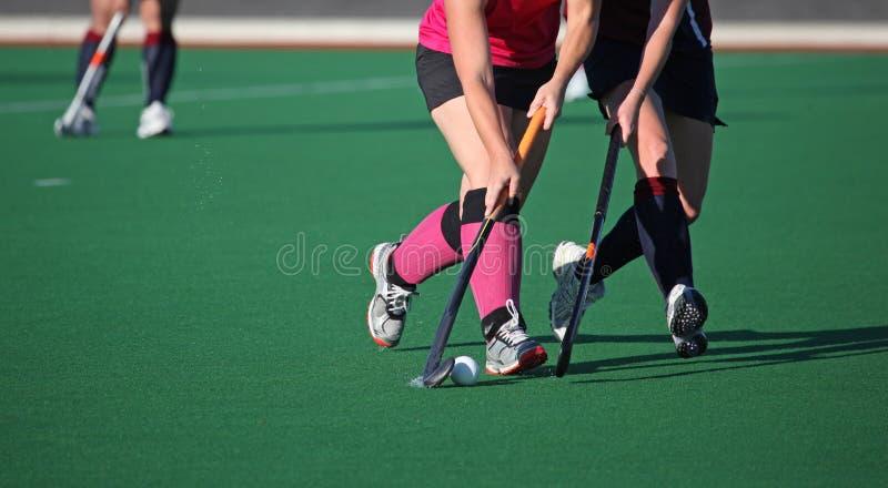 Hockey su prato fotografie stock