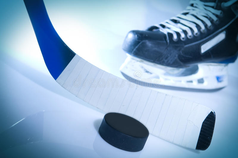 Hockey sur glace photos libres de droits