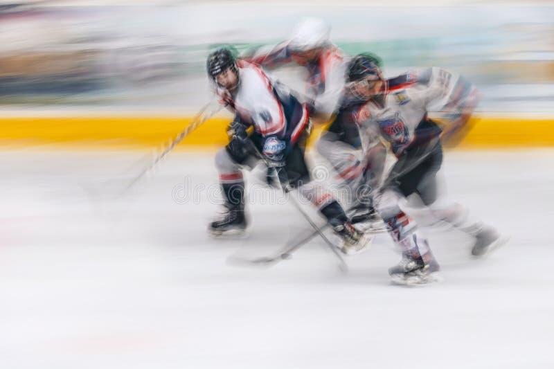 Hockey U18 royaltyfri bild