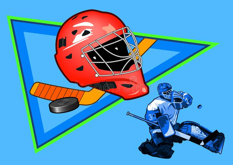 hockey fotografia de stock