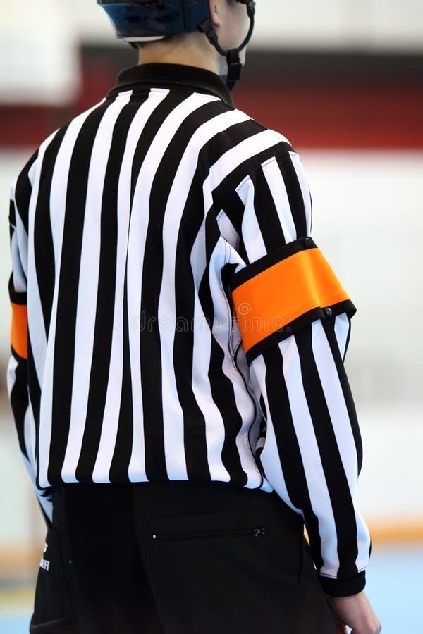 hockeydomare arkivfoto
