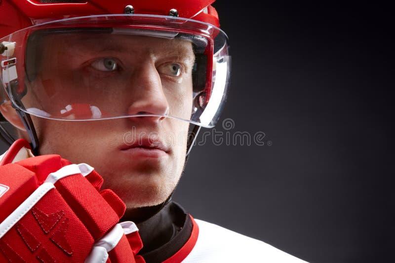 Hockeyist стоковые изображения rf