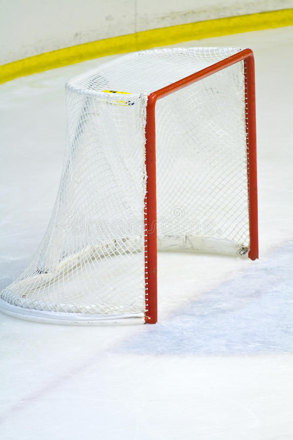 Hockeynetz lizenzfreie stockfotos