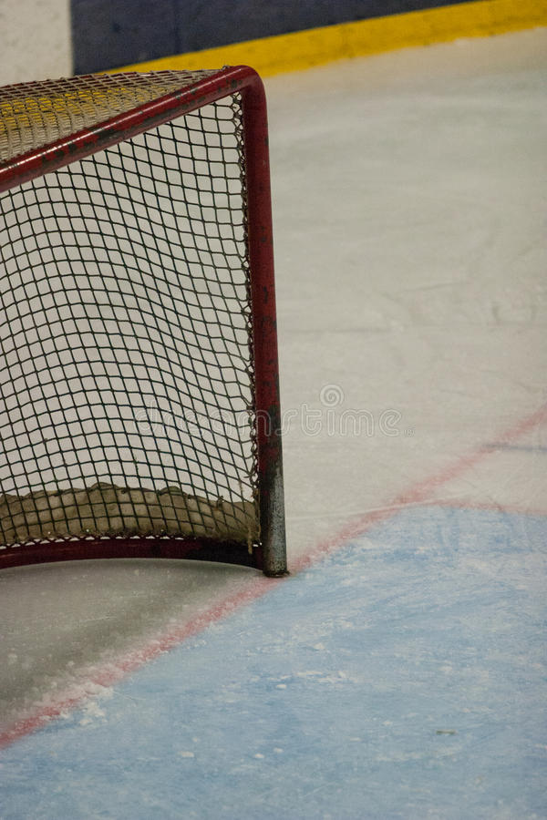 Hockeynetz stockfotos