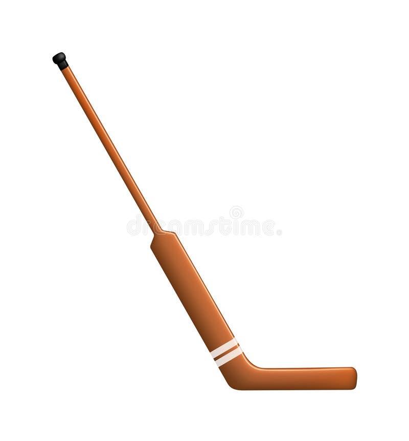 Hockeypinne för goalie vektor illustrationer