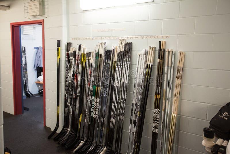 Hockeyschläger stockfoto
