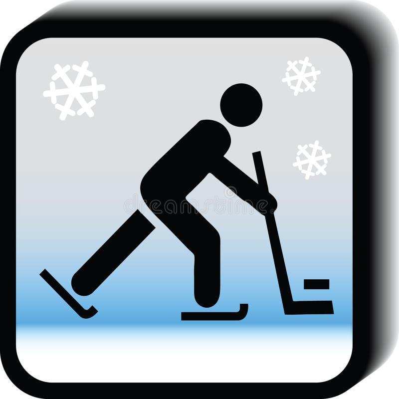 Hockeysymbol royaltyfri fotografi