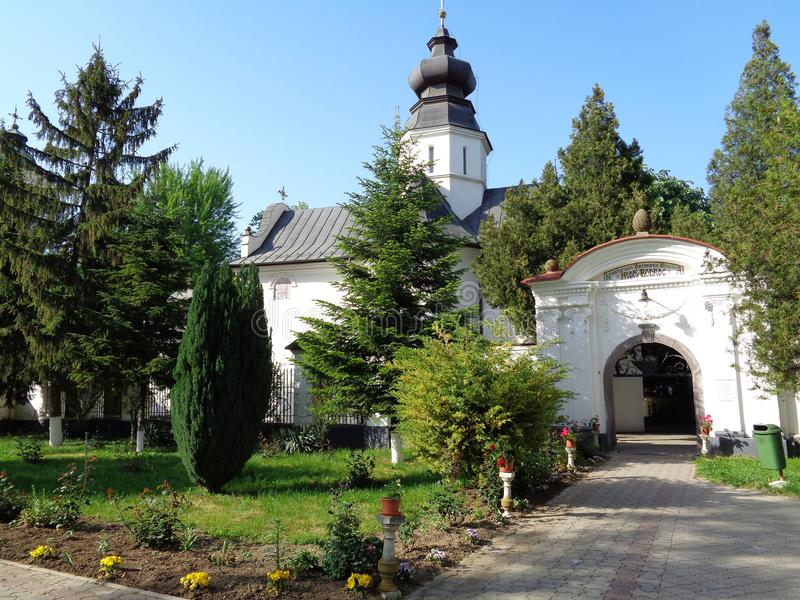 Hodos-Bodrog kloster arkivbild
