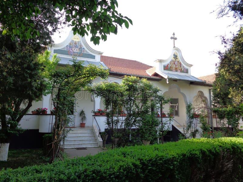 Hodos-Bodrog kloster fotografering för bildbyråer