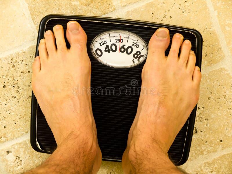 Hoe gaat het dieet? stock afbeelding