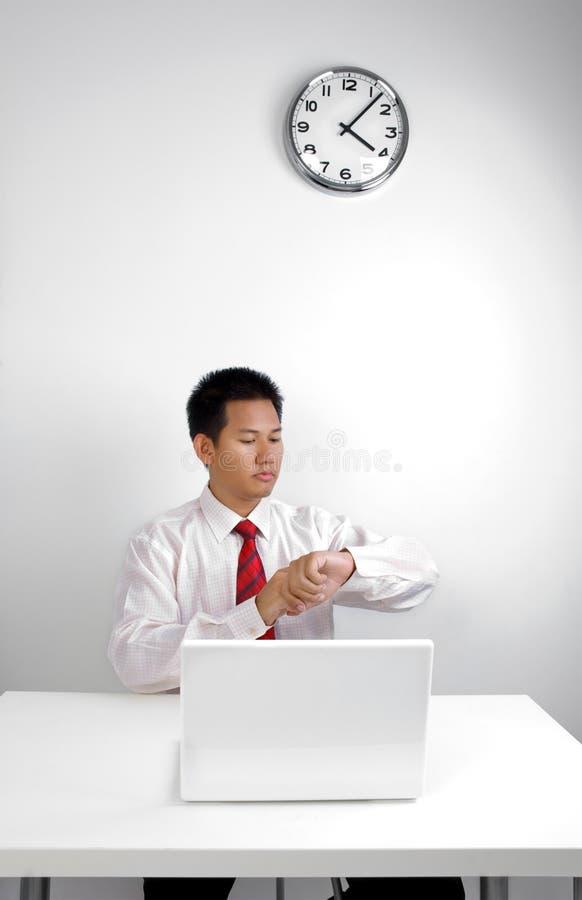 Hoe laat is het? royalty-vrije stock foto