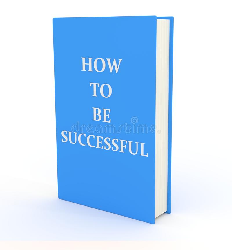 Hoe te succesvol te zijn stock illustratie