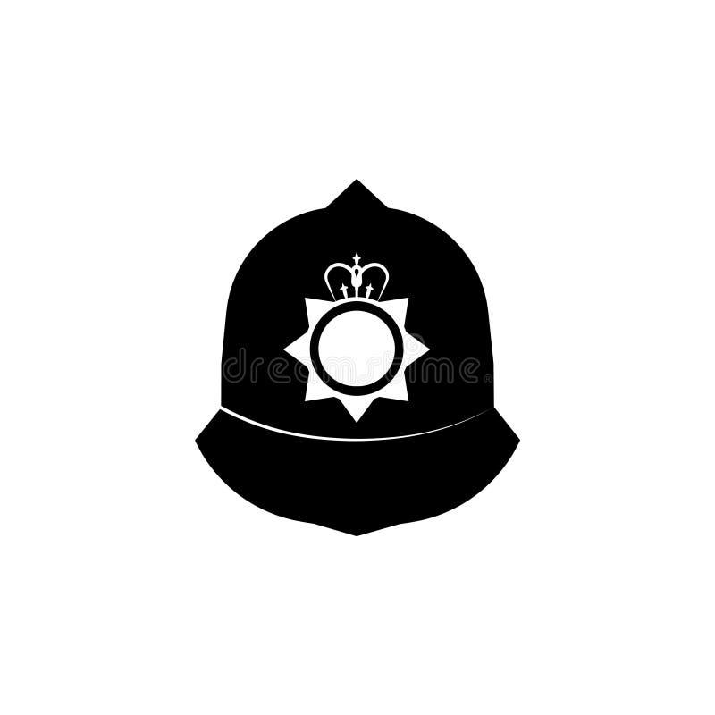 Hoed van het Constable symbool stock illustratie