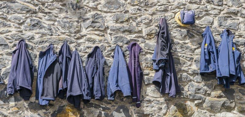 Hoeden en jasjes royalty-vrije stock foto's