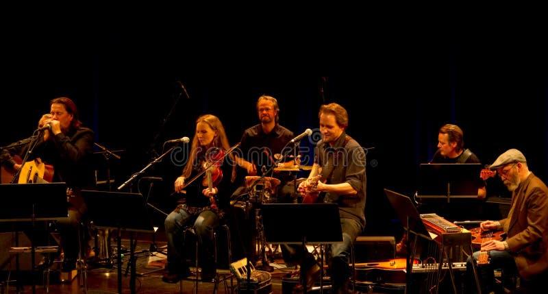 Hoedown della fascia di musica delle radici e Kaartamo finlandesi, Ket fotografia stock