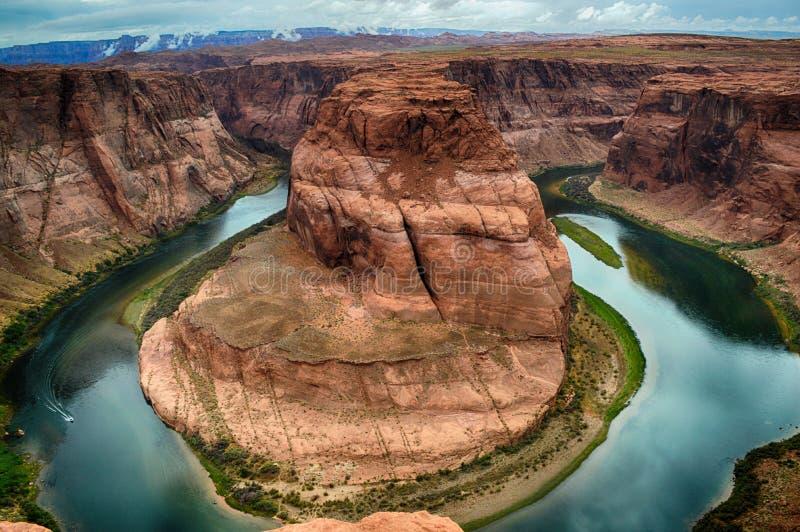 Hoefijzer Kromming Arizona royalty-vrije stock foto