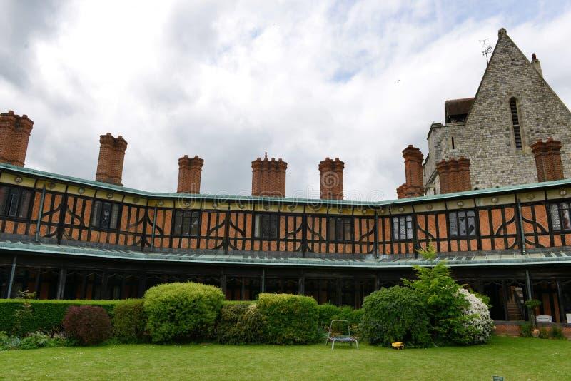 Hoefijzerklooster, Windsor Castle, het UK stock fotografie
