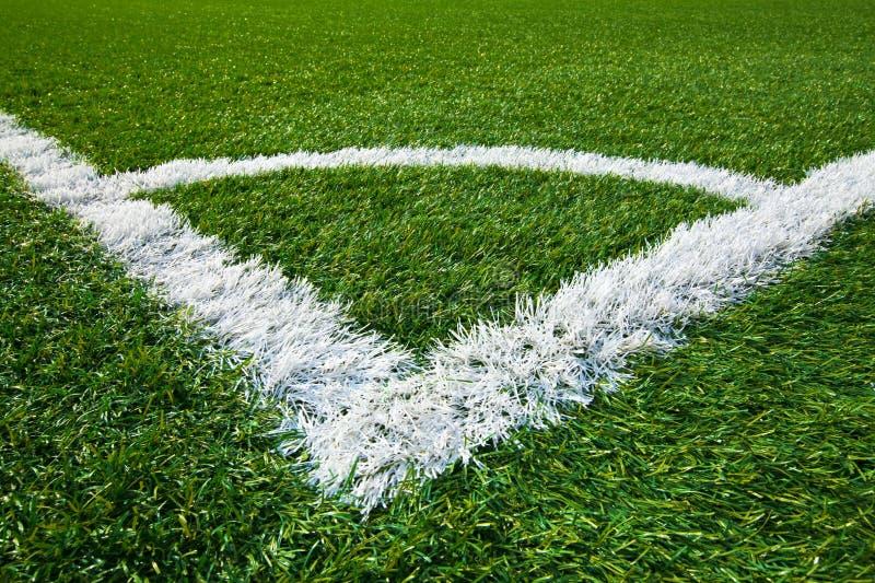 Hoek van een voetbalgebied stock foto afbeelding bestaande uit gemaakt 17289530 - Verkoop synthetisch gras ...