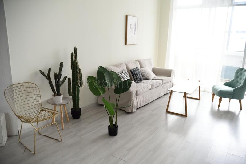 Hoek van Modern huis stock foto's
