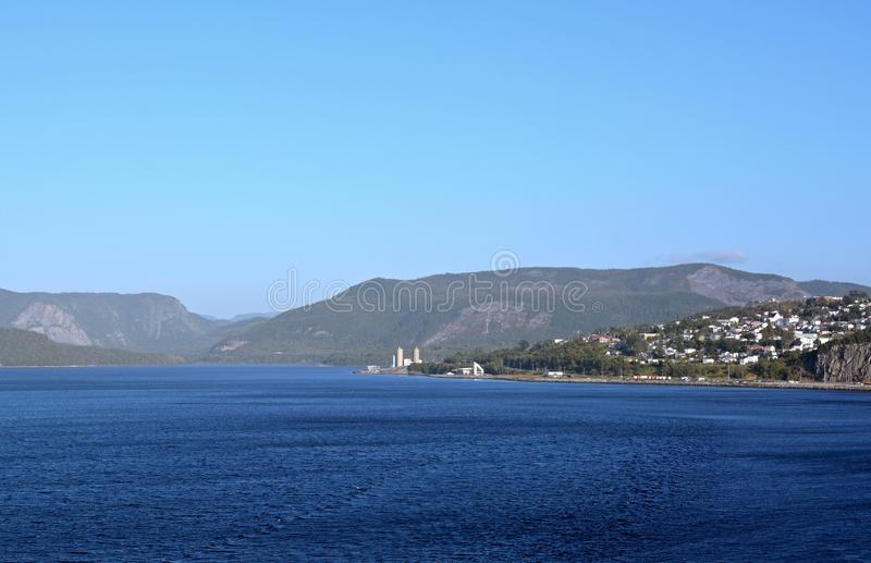 Hoekbeek, Newfoundland stock fotografie