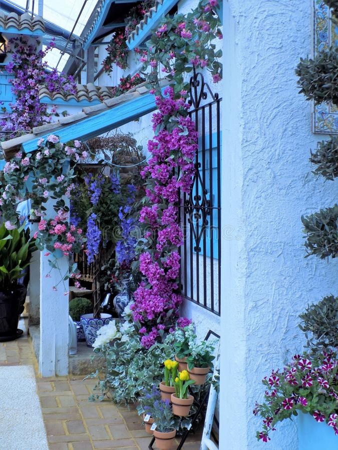Hoekje typisch-Andalusia stock foto
