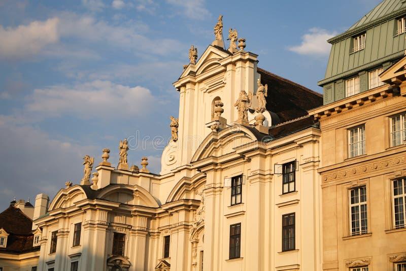 Am Hof Church in Vienna, Austria. Am Hof Church in Vienna City, Austria stock photos