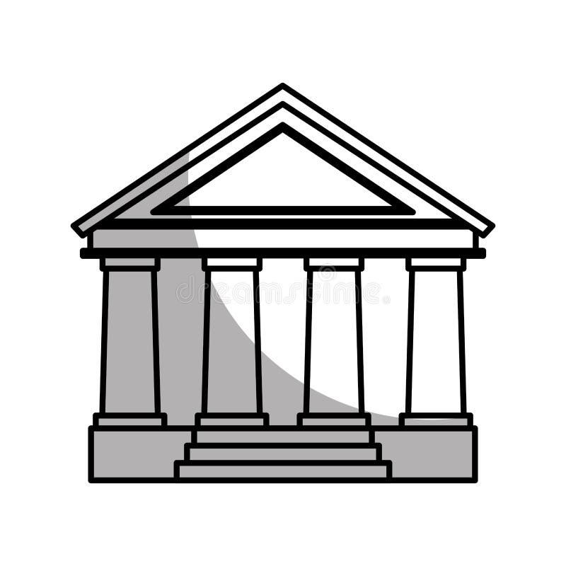 hof de bouw geïsoleerd pictogram vector illustratie