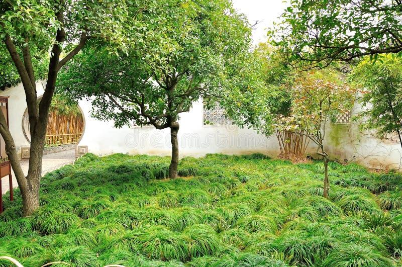 Hof im Garten des bescheidenen Verwalters stockfotos