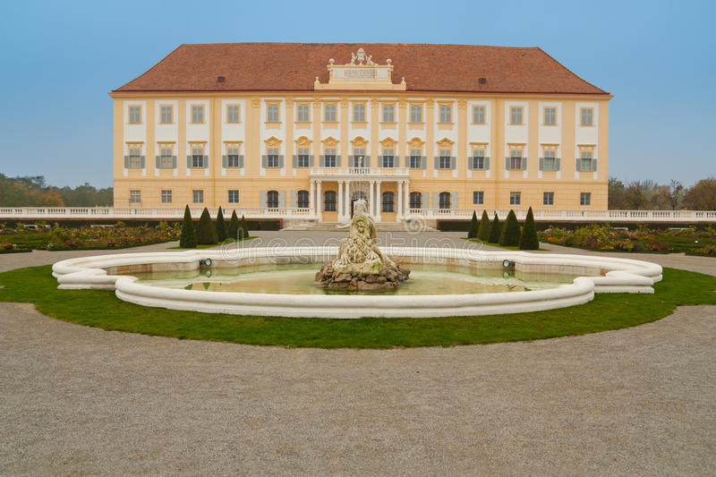 Hof palace in austria. Near to slovakian borders royalty free stock images