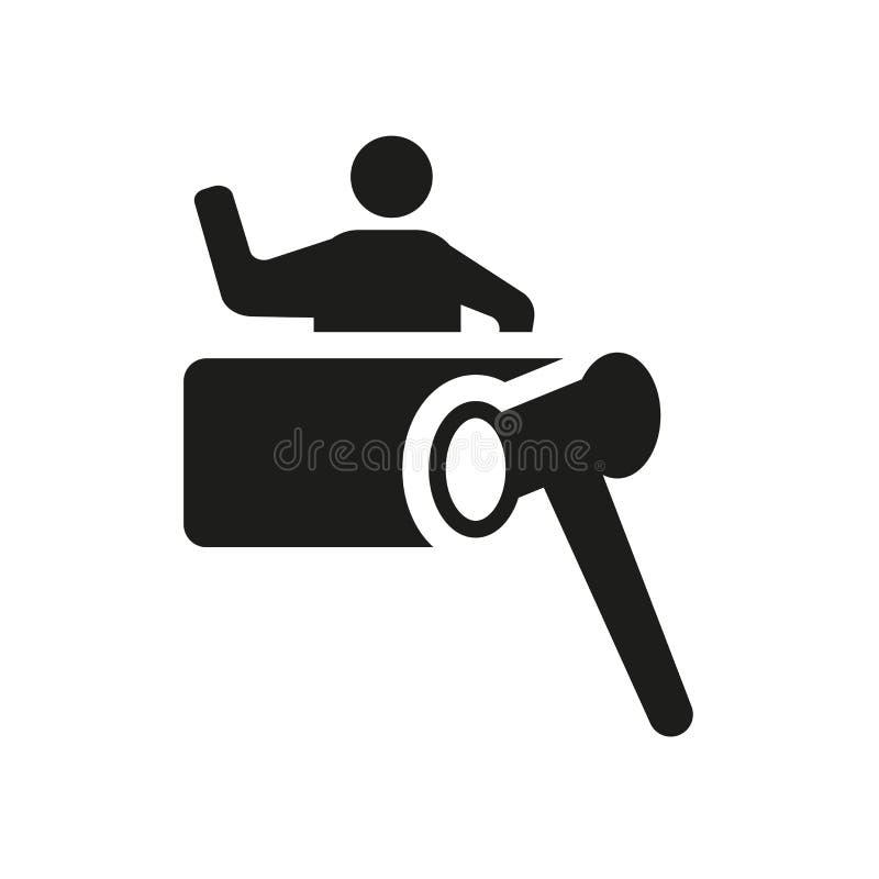 Hof pictogram  vector illustratie