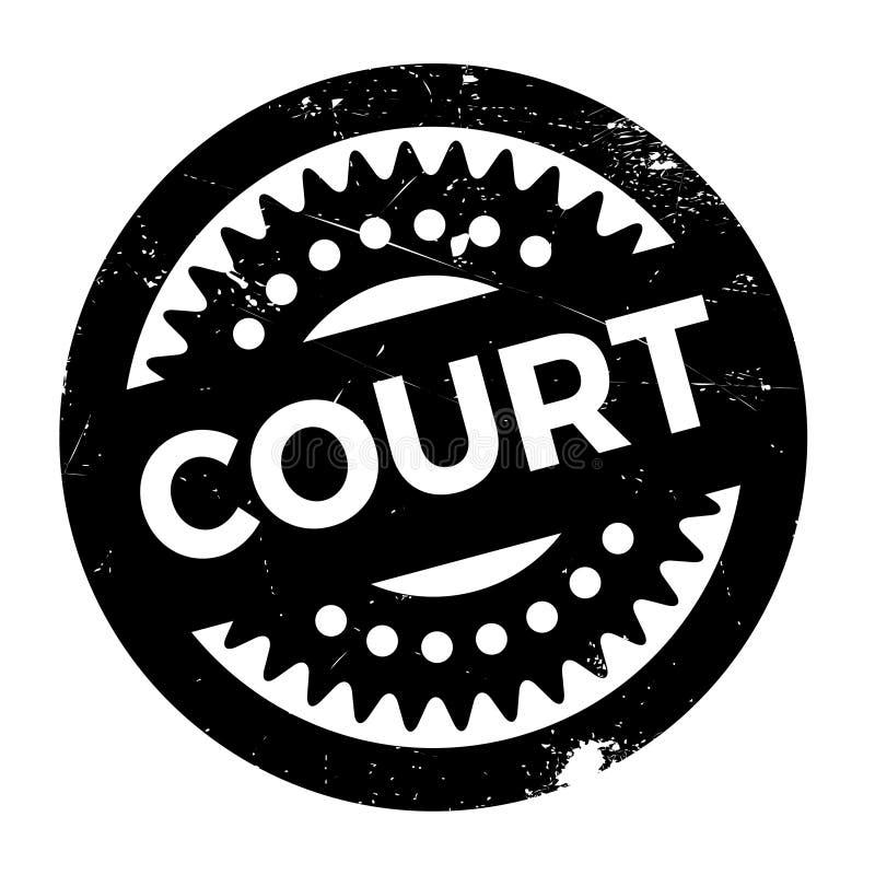 Hof rubberzegel vector illustratie