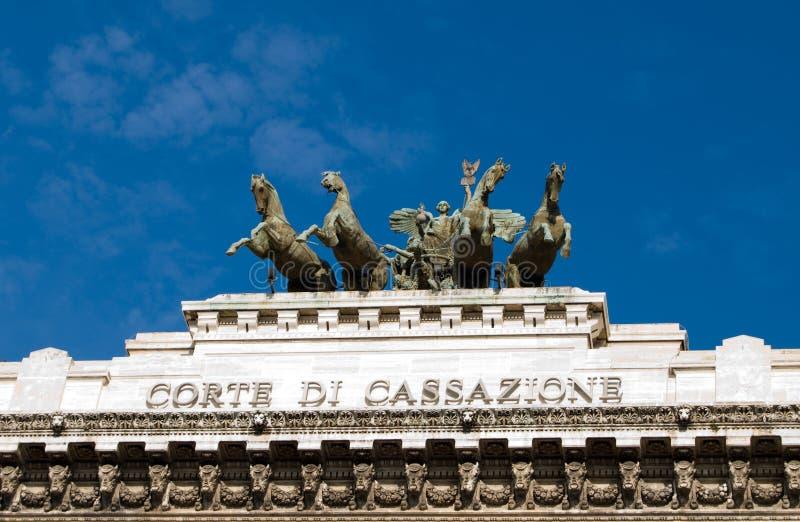 Hof van Rome royalty-vrije stock afbeeldingen