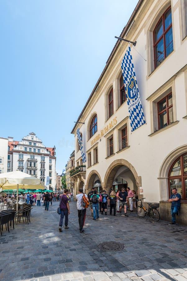 Hofbraeuhaus beer house, Munich, Bavaria, Germany royalty free stock images