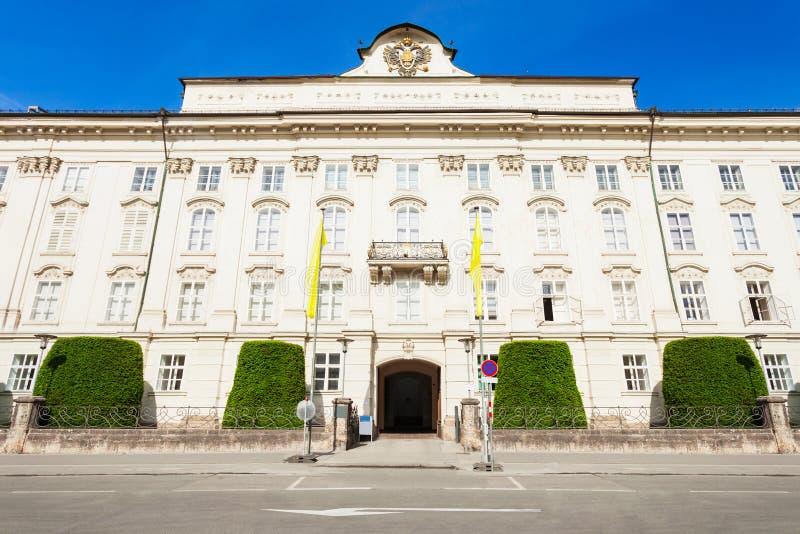Hofburg故宫,因斯布鲁克 免版税图库摄影