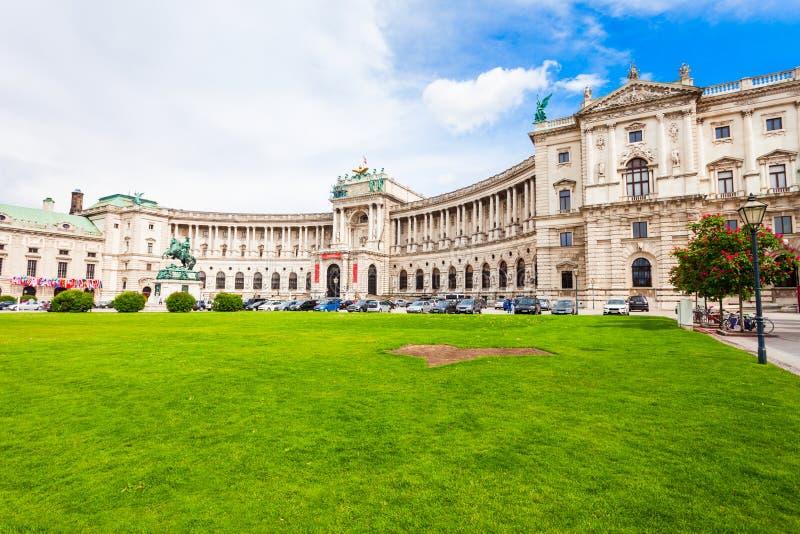 hofburg皇家宫殿维也纳 库存图片