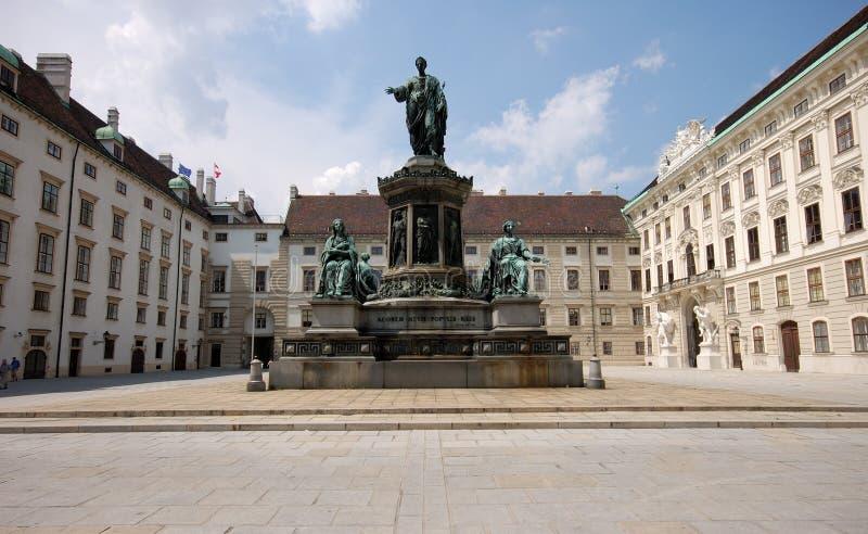 Hofburg en Viena, Austria foto de archivo libre de regalías
