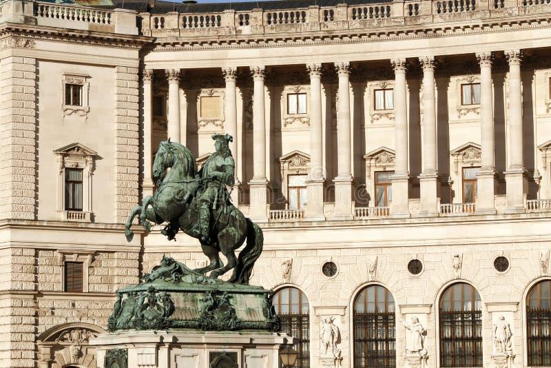 hofburg imperiału pałacu fotografia stock