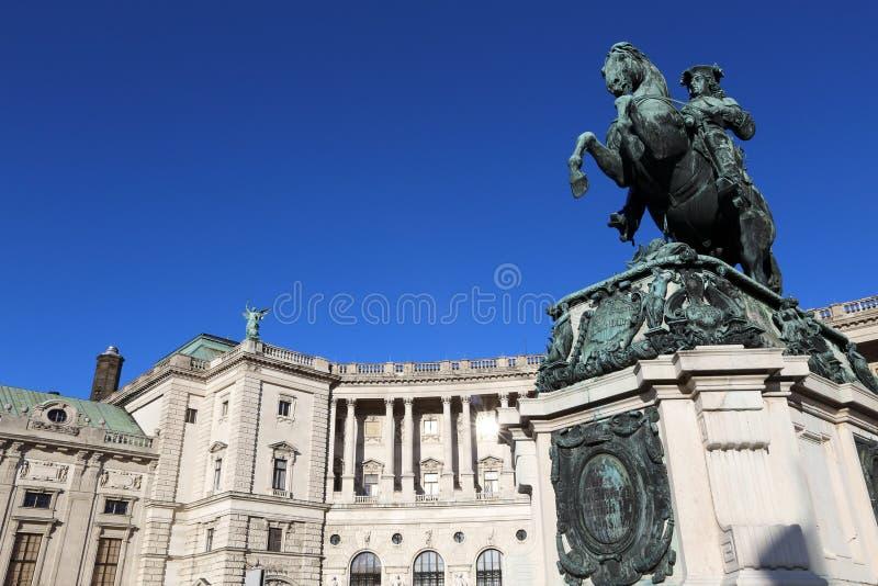 hofburg imperiału pałacu obrazy royalty free