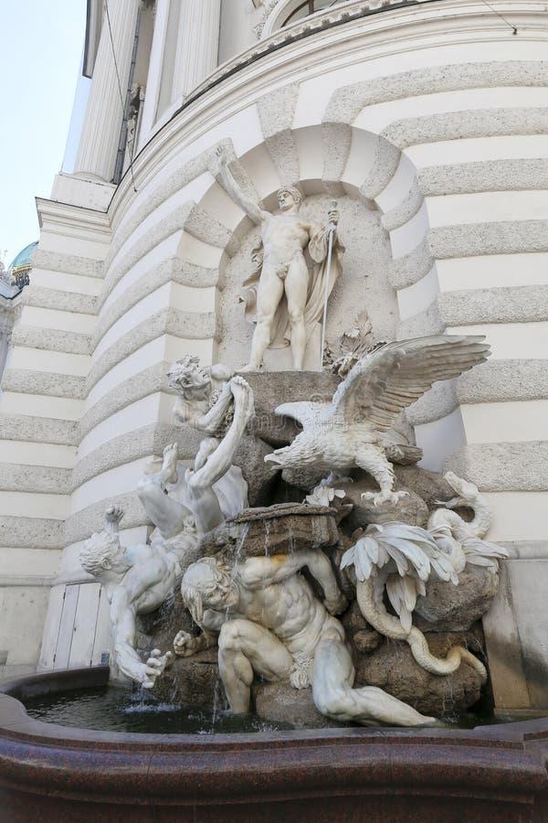 Hofburg pałac w Wiedeń fotografia royalty free
