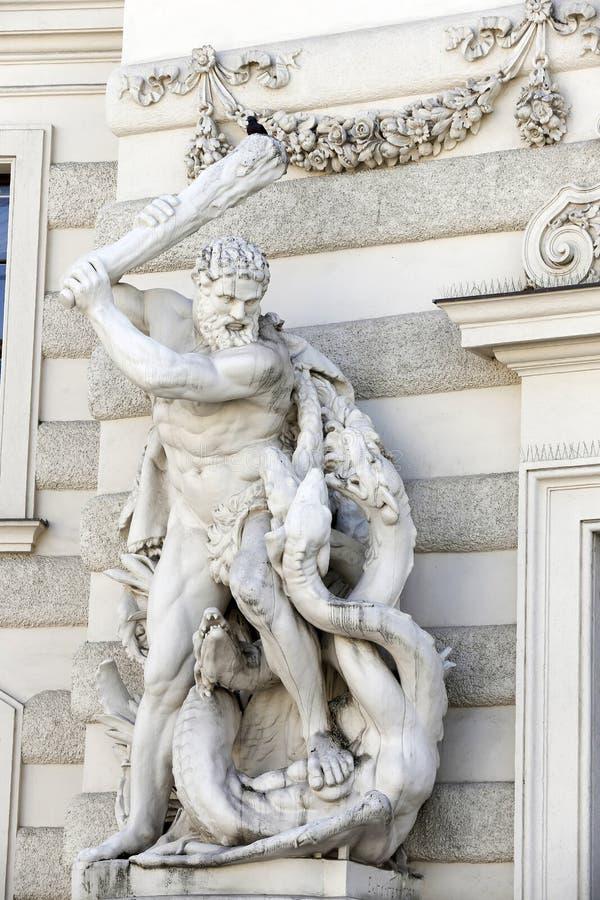 Hofburg pałac w Wiedeń zdjęcia royalty free