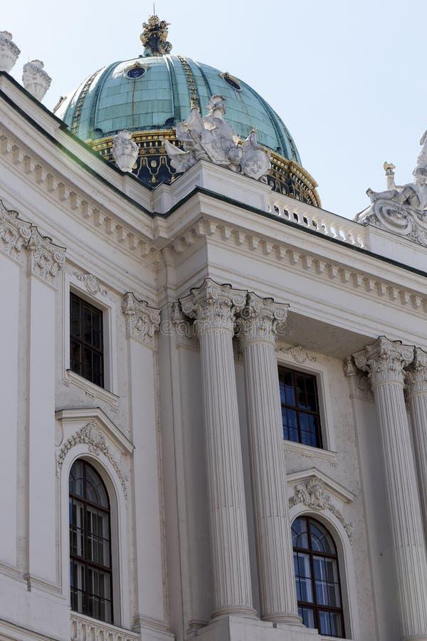 Hofburg pałac w Wiedeń zdjęcia stock