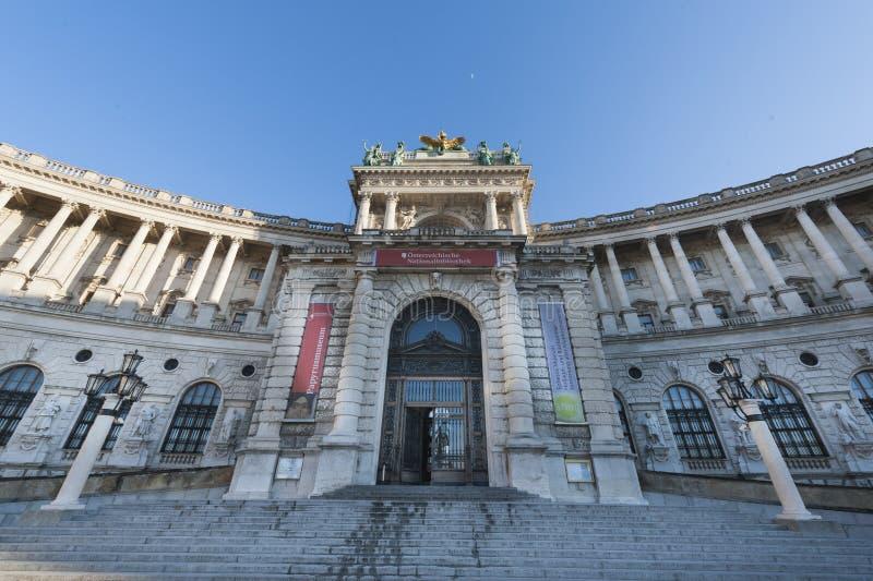 Hofburg pałac, Wiedeń, Austria zdjęcia royalty free