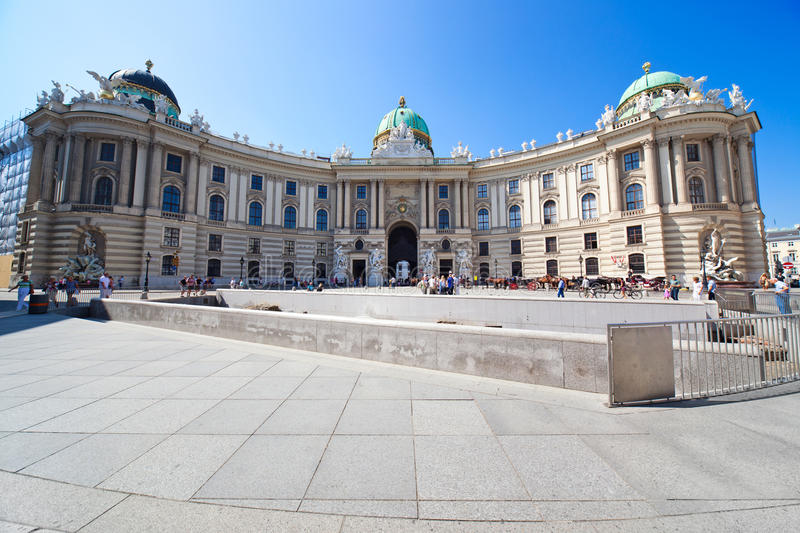 Hofburg palace royalty free stock photo